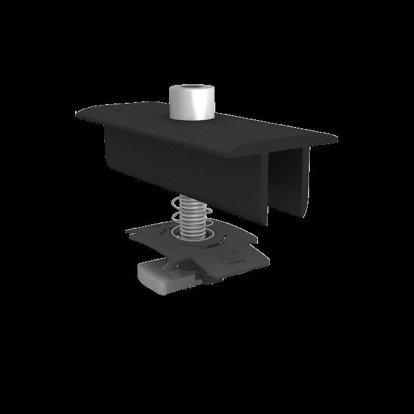 K2 Modulmittelklemme XS Set 34-38mm schwarz, 1005158