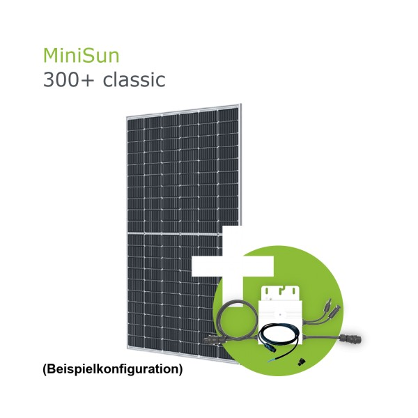 MiniSun300+ Mini Solaranlage für Balkon, Dach und Garten GE310S