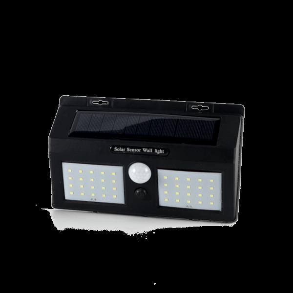 LED Solar Wandleuchte Wegbeleuchtung für Außen mit Bewegungsmelder