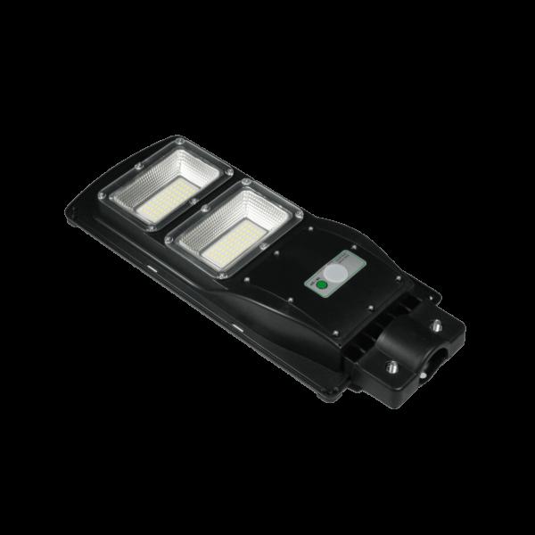 LED Solar Straßenlampe Wegleuchte mit Bewegungsmelder 60 Watt inklusive Halterung