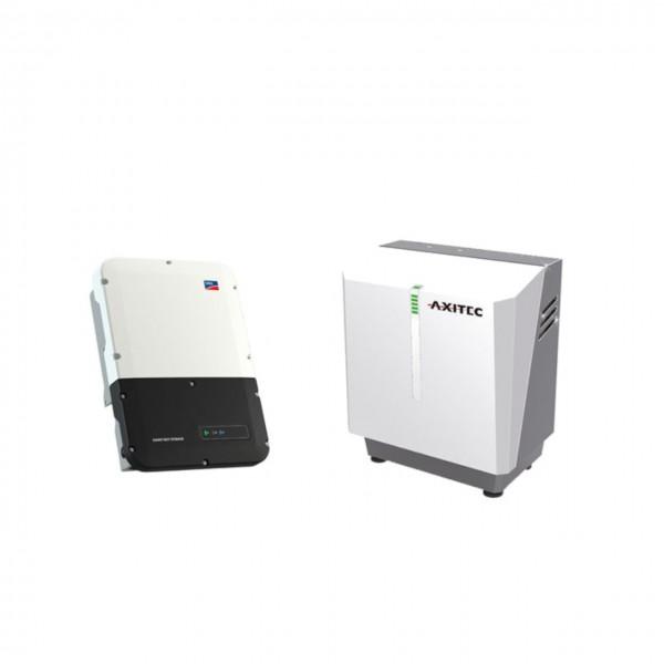 AXITEC LI 7.5 SH + SMA Sunny Boy Storage 5.0 (SB 5.0) Stromspeicher mit Wechselrichter