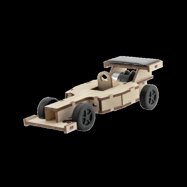 Easy-Line Solarrennwagen Bausatz aus Holz mit Solarzelle 40306