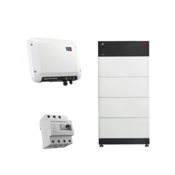 Speicherpaket BYD B-BOX HVS 10.2 (10,24 kWh) + SMA 2.5 Wechselrichter