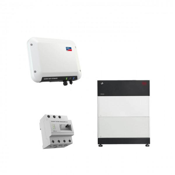 Speicherpaket BYD B-BOX HVS 5.1 (5,12 kWh) + SMA 2.5 Wechselrichter