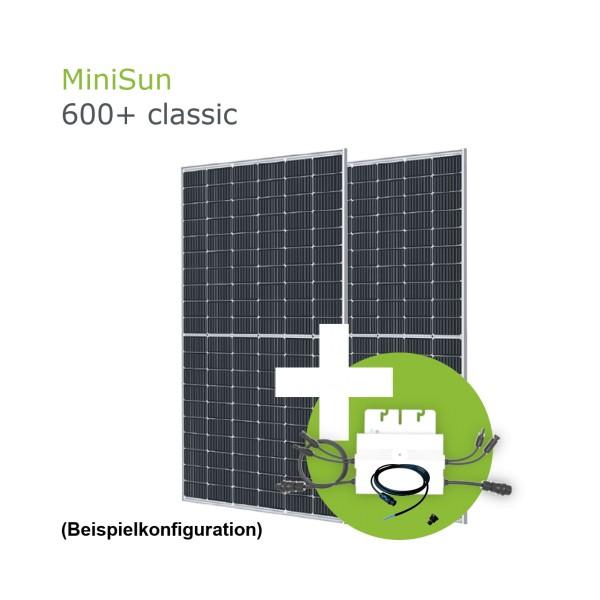 MiniSun600+ Mini Solaranlage für Balkon, Dach und Garten GE310S