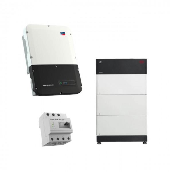 Speicherpaket BYD B-BOX HVS 7.7 (7,68 kWh) + SMA 3.7 Wechselrichter