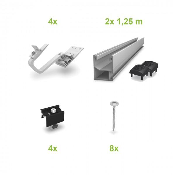 Ziegel (1 Modul) UK-Komplettset