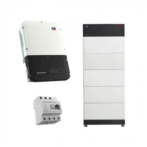 Speicherpaket BYD B-BOX HVM 13.8 (13,8 kWh) + SMA 5.0 Wechselrichter