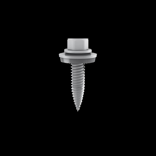 Gewindeformende Schraube mit Dichtscheibe 6x38mm (10 Stück), 1005193