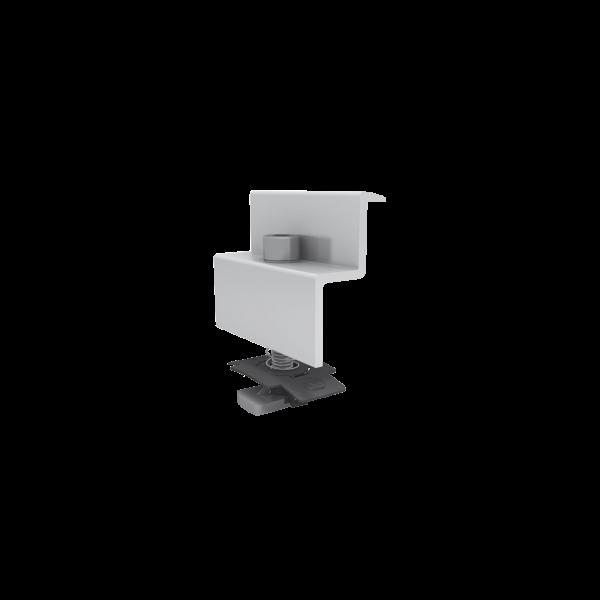 K2 Modulendklemme Set 34-36mm Silber, 1005169