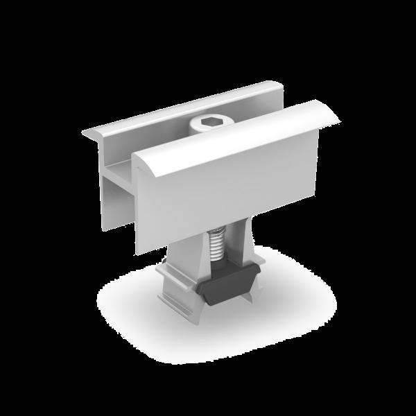 K2 Universal-Modulmittelklemme OneMid 30 - 42 mm, silber / pressblank, 2003071