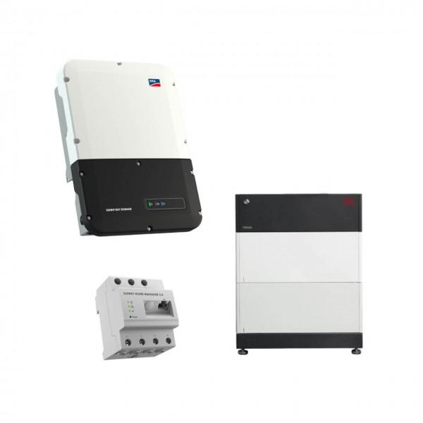 Speicherpaket BYD B-BOX HVS 5.1 (5,12 kWh) + SMA 3.7 Wechselrichter