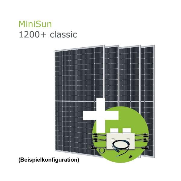 MiniSun1200+ Mini Solaranlage für Balkon, Dach und Garten GE310S