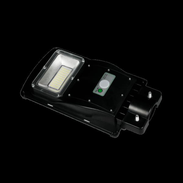 LED Solar Straßenlampe Wegleuchte mit Bewegungsmelder 30 Watt inklusive Halterung
