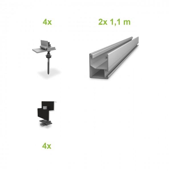 Stockschrauben (1 Modul) UK-Komplettset