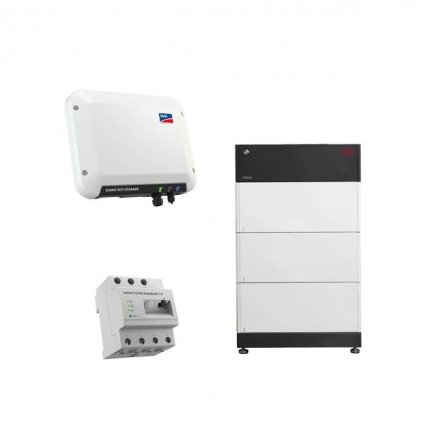 Speicherpaket BYD B-BOX HVS 7.7 (7,68 kWh) + SMA 2.5 Wechselrichter
