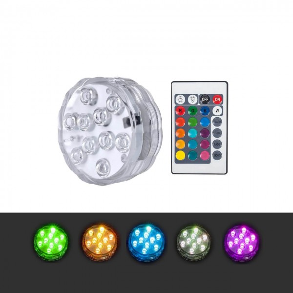 LED Pool-Licht wasserdicht mit 10 RGB LEDs zur Dekoration