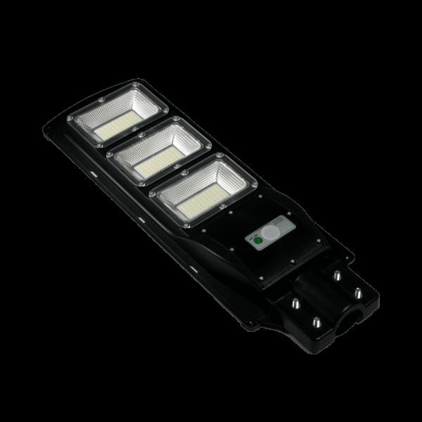 LED Solar Straßenlampe Wegleuchte mit Bewegungsmelder 90 Watt inklusive Halterung