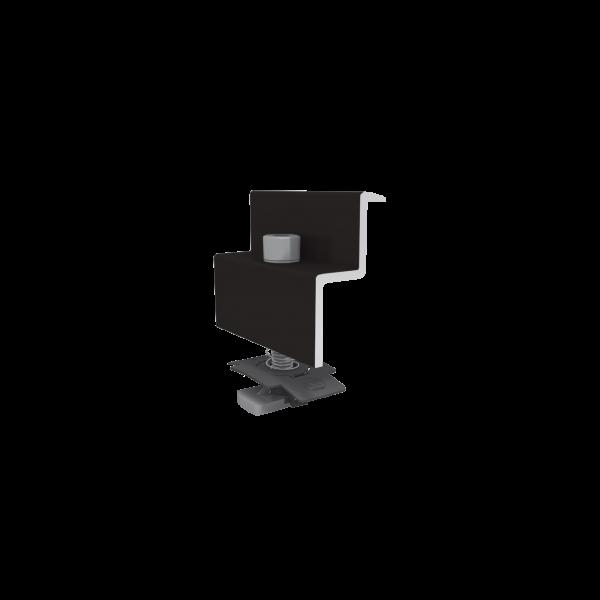 K2 Modulendklemme Set 34-36mm Schwarz, 1005268
