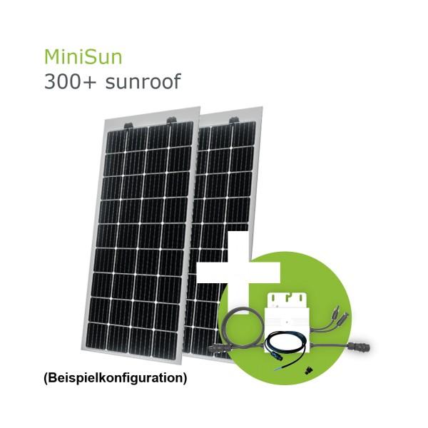 MiniSun300+ sunroof - Mini Solaranlage als Terassenüberdachung, Wintergartendach oder Carport SW175
