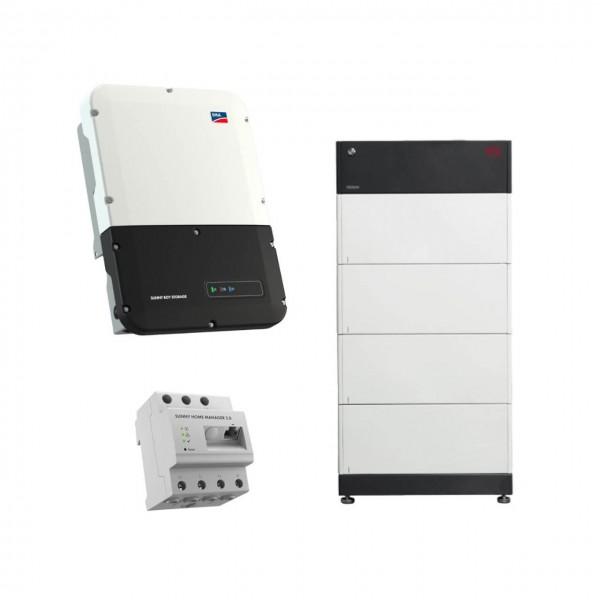 Speicherpaket BYD B-BOX HVS 10.2 (10,24 kWh) + SMA 5.0 Wechselrichter